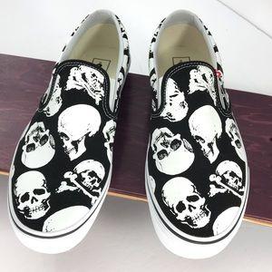 Vans Classic Skulls Slip On